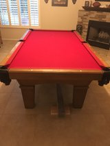 pool table in Davis-Monthan AFB, Arizona