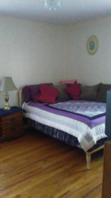 Full antique bed with new mattress and box spring in Elizabethtown, Kentucky