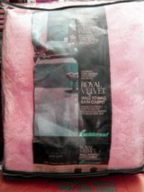 5' x 6' Royal Velour PINK Nylon Wall To Wall Bathroom Carpet by W&R Made in USA in Wilmington, North Carolina