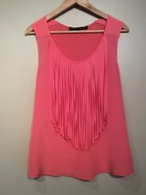 Zara Basic dressy sleeveless shirt size M in Lockport, Illinois