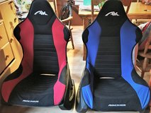 Lot of TWO Rocker Video GAMING CHAIRS use to play Xbox, wii and Playstation in Naperville, Illinois
