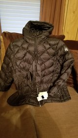 MICHAEL Michael Kors Plus Size Ruched Packable Down Coat (super warm) in Glendale Heights, Illinois