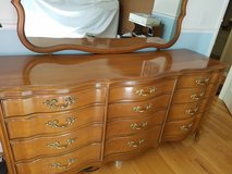 French Provincial dresser set, solid, well-constructed, nice! in Batavia, Illinois