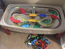 train table and trains in Fort Polk, Louisiana