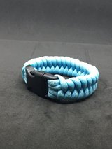 """Blue series"" paracord bracelets in Okinawa, Japan"