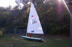Laser Sailboat in DeRidder, Louisiana