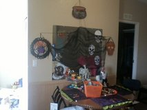 Huge halloween lot in Yucca Valley, California