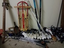 misc. sporting goods and fun outdoor stuff!! rollerblades  sz6-10, jazz shoes, x coun... in Westmont, Illinois