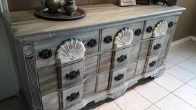 Rustic Grey Dresser in Baytown, Texas