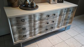 Bassett Rustic Cream Dresser in Baytown, Texas