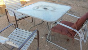 Patio Furniture set in Yucca Valley, California