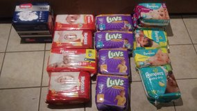 Tons of diapers in Yucca Valley, California