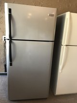 Frigidaire stainless steel refrigerator in Cleveland, Texas