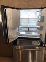 GE stainless steel French door refrigerator in Cleveland, Texas