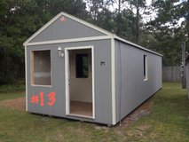 12x32 Office Storage Building Shed WIRED!! in Moody AFB, Georgia