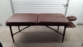 The Berkeley Portable Massage Table w/carrying case in Cherry Point, North Carolina