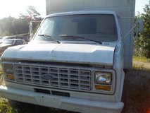 1986 FORD E 350  BOX VAN in Camp Lejeune, North Carolina