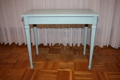Vintage Shabby Chic Duck Blue Table / Bench in Ramstein, Germany