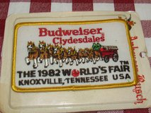 Budweiser Clydesdale Sew on Patch in Sandwich, Illinois