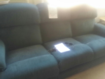 RECLINER SET with matching CONSUL in Sacramento, California