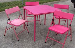 Childs Table and 4 Chairs in Fort Campbell, Kentucky