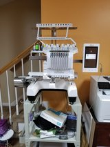 Babylock 10 needle embroidery machine in Fort Campbell, Kentucky