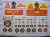 USMC Stickers / Decal Lot in 29 Palms, California