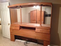 5 piece Bedroom Set with mirrored headboard and lighting in Temecula, California