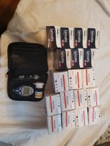 glucose monitor with supplies in Fairfield, California