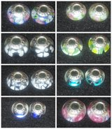 2pcs.Pandora glass beads charms in Lawton, Oklahoma