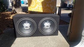 """12"""" subs with amplifier-JBL in Travis AFB, California"""