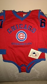 NWT Chicago Cubs Onesie Size 6-9 mos in Naperville, Illinois