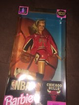 Chicago Bulls Barbie in Naperville, Illinois