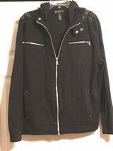 men's black zip jacket in Fort Riley, Kansas