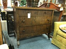 Antique 4 drawer dresser in Chicago, Illinois