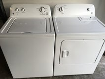 Newer Kenmore washer dryer in Cherry Point, North Carolina