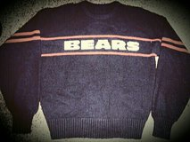 BEARS SWEATER - ADULT MEDIUM in Sugar Grove, Illinois