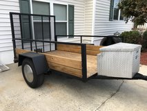 Utility trailer - very nice condition in Cherry Point, North Carolina