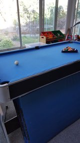 3-in-1 Pool Table Air Hockey Table tennis in Vacaville, California