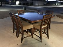 Kitchen Table with 6 chairs in Fort Bliss, Texas
