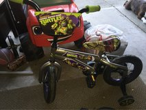 12 inch ninja turtle bike like New in Fairfield, California