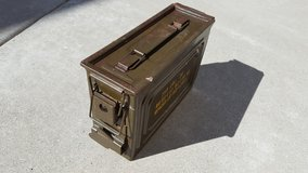 WWII Ammo Box in Travis AFB, California