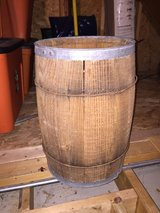 "Antique Wood Barrel 18"" tall in Wilmington, North Carolina"