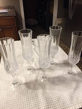 5 Champagne Flutes in Wilmington, North Carolina