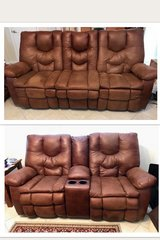 2 piece electric sofa & loveseat; both in great condition.  Both are electric/ reclining and ric... in Las Vegas, Nevada
