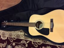 Fender  Acoustic guitar with case in Okinawa, Japan