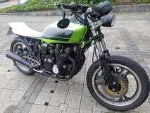 1986 Kawasaki GPZ UT project bike Cafe Racer flt track scrambler brat combo for sale or trade in Ramstein, Germany