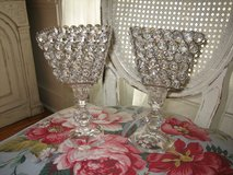 crystal candle sticks with pretty prisms in Bolingbrook, Illinois