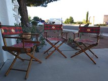 DIrector chairs in Las Cruces, New Mexico