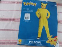 Pikachu Costume Kids Pokemon Halloween costume size M 8-10 in Wiesbaden, GE